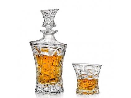 Crystal Bohemia Patriot whisky set