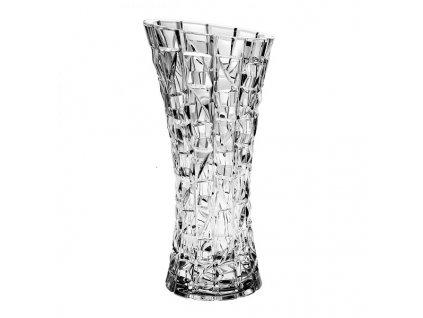 Crystal Bohemia skleněná váza PATRIOT 330 mm