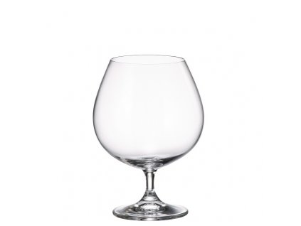 crystalite bohemia sklenice na brandy 690 ml