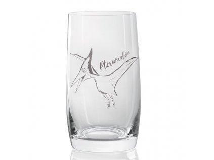 sklenička s dinosaurem Pterauodon