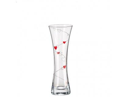 crystalex váza love 195 mm