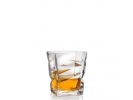 Bohemia Crystal sklenice na whisky zig zag