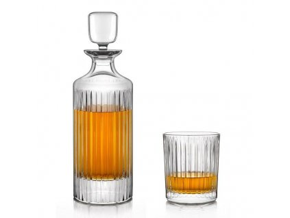 Crystal Bohemia Skyline whisky set (1+6)