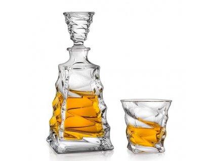 Crystalite Bohemia whisky set Casablanca