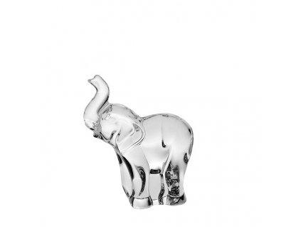 skleněná figurka slona
