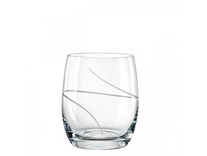 Crystalex sklenice Club 300 ml broušené sklo