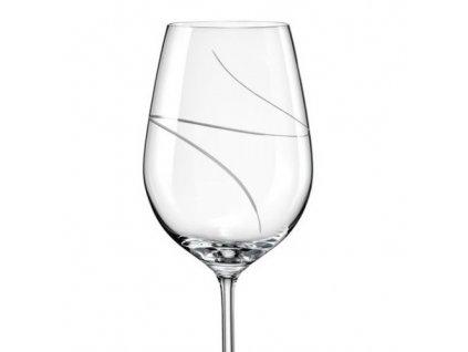 crystalex sklenice viola 350 broušené sklo