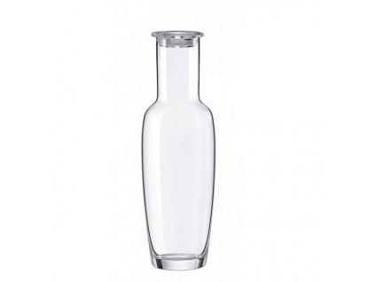 Rona Skleněná karafa na vodu s akrylátovou zátkou ARCTIC 0,9 l