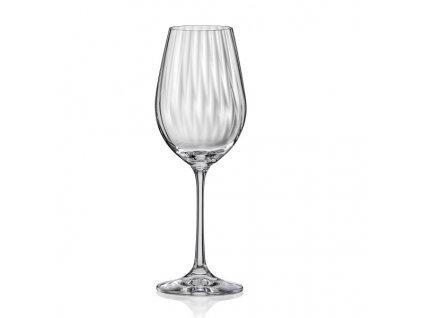 Crystalex Sklenice na víno WATERFALL 350 ml