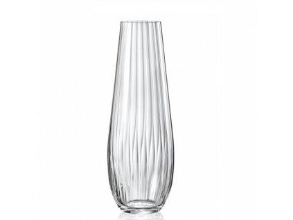crystalex skleněná váza na květiny waterfall 340 ml