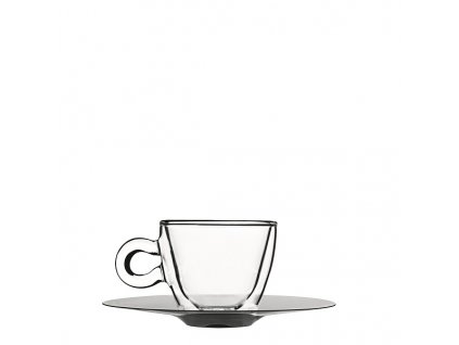 skleněný šálek na espresso dvoustěnný Luigi Bormioli
