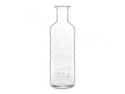 Luigi Bormioli Skleněná láhev na vodu OPTIMA ACQUA 0,75 l