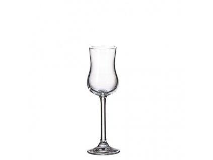 crystalite bohemia sklenice na grappu colibri 85 ml