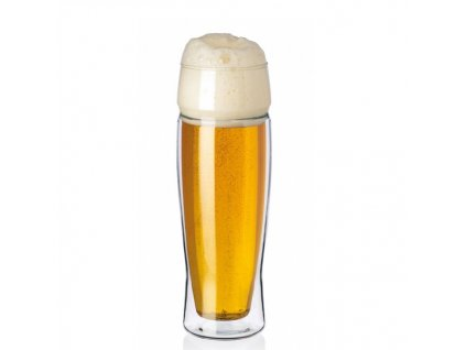sklenice na pivo dvoustěnná Simax