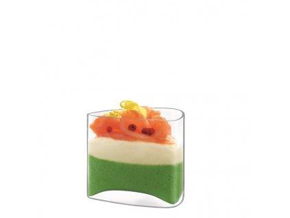 skleničky na dezerty trojúhelníkové Luigi Bormioli Michelangelo Amuse Bouche 150 ml