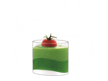 skleničky na dezerty oválné Luigi Bormioli Michelangelo Amuse Bouche 130 ml