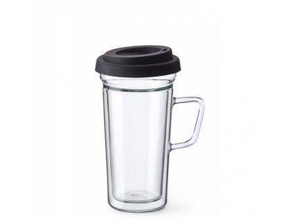 Simax Termo skleněný hrnek Exclusive Coffe to go 0,4 l