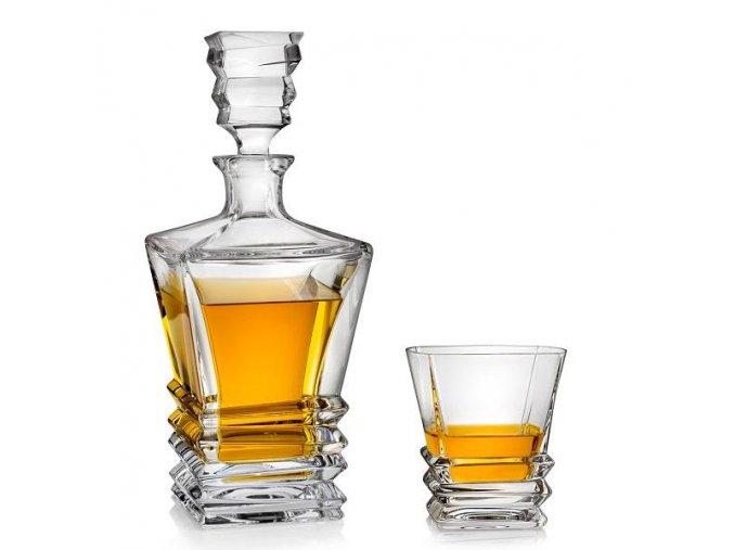 bohemia jihlava rocky whisky set