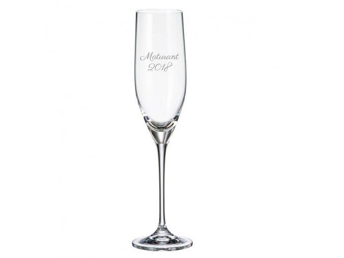 Maturitní skleničky stella 240 ml crystalite bohemia