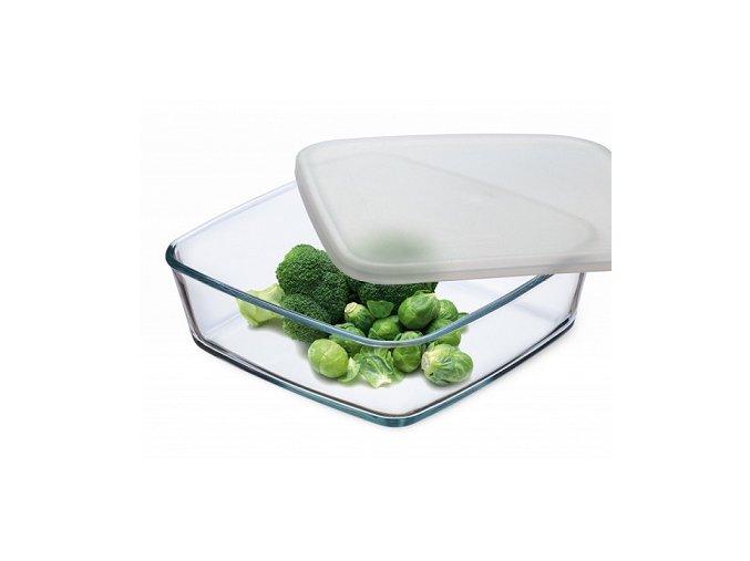 Simax Hranatý zásobník na potraviny 1 l
