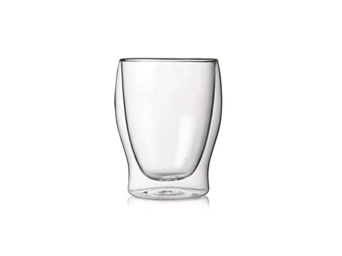 Luigi Bormioli Dvoustěnná sklenice DUOS 350 ml