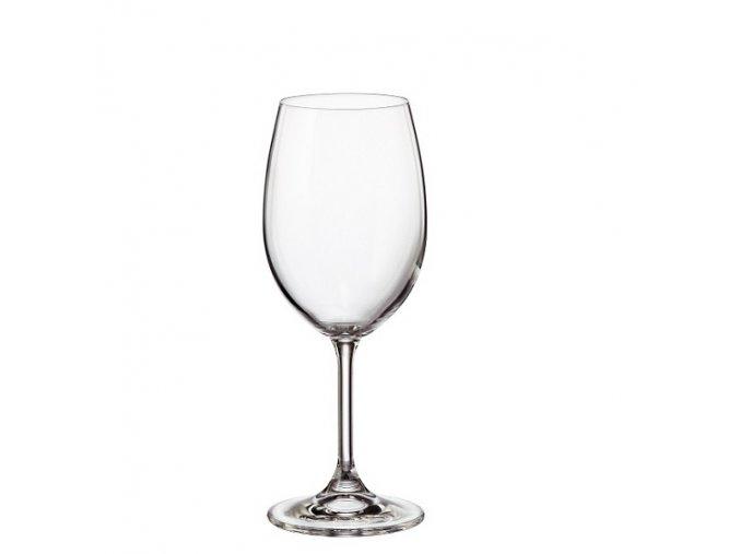 Crystalite Bohemia Sklenice na víno KLARA 350 ml