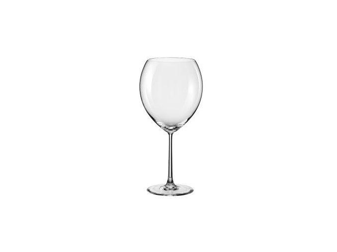 Rona Sklenice na víno ORION, ručně foukané křišťálové sklo 470 ml, 1 ks