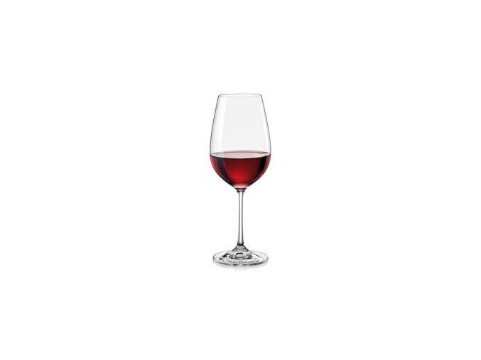 Crystalex Sklenice na víno VIOLA 450 ml