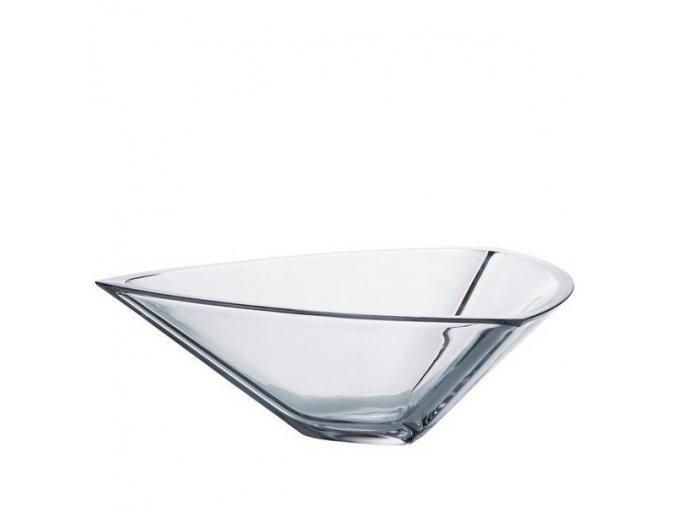 Crystalite Bohemia Skleněná mísa Triangle 305 mm