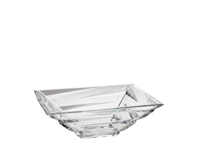Crystal Bohemia Skleněná mísa ZIG ZAG 290 mm