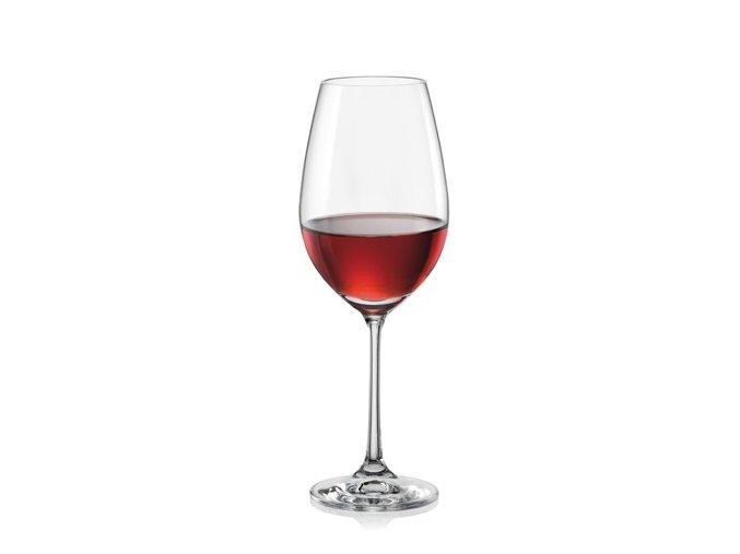 Crystalex Sklenice na víno VIOLA 350 ml