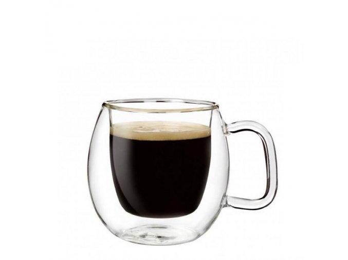 Luigi Bormioli skleněný šálek na espresso BRASILE 75 ml