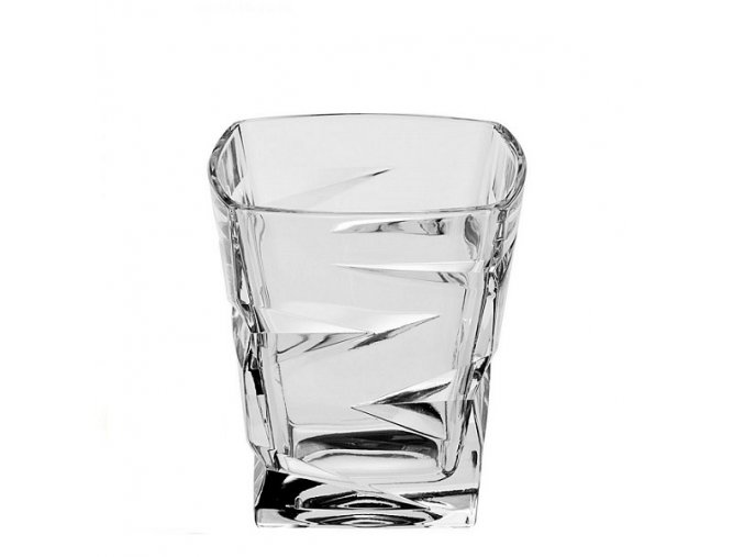 Crystal Bohemia Sklenice na whisky ZIG ZAG 300 ml