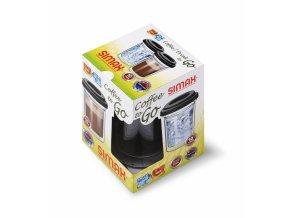 Simax Sklenice dvoustěnná COFFEE TO GO 300 ml, 1 ks