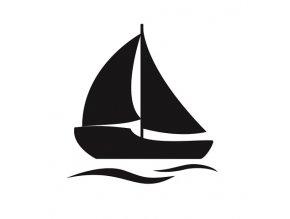 Loď pískování motivu