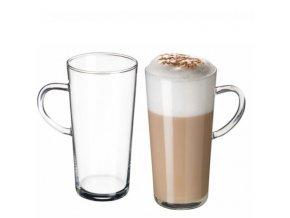 Simax Skleněný hrnek na latté Karina 350 ml, 1 ks