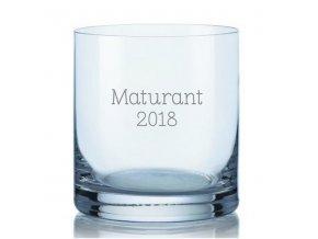 Maturitní sklenička na whisky 280 ml