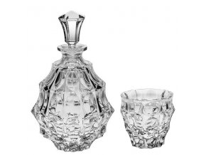 crystal bohemia whisky set fortune