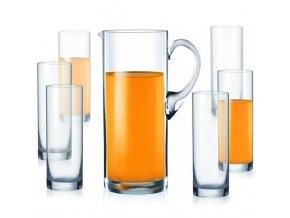 Crystalex Barline set džbán a skleničky (1+6)