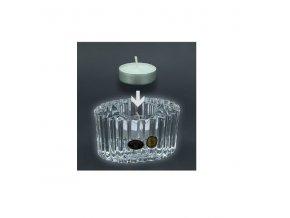 Bohemia Crystal, Skleněný svícínek ovál