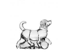 crystal bohemia figurka psa