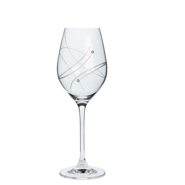 Levně Sklenice na víno SWAROVSKI MODERN 360 ml Balení: 6 ks v balení