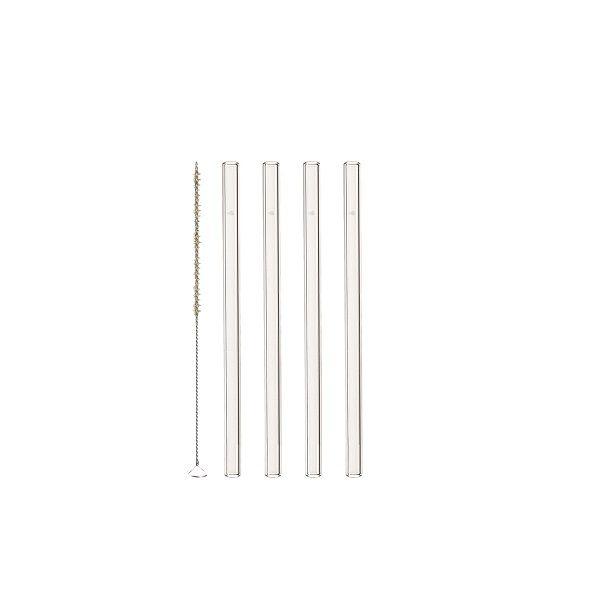 Leonardo Sada skleněných brček (4+1) Délka brček: 15 cm