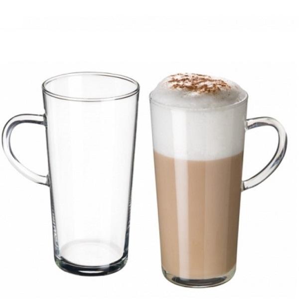Simax Skleněné hrnky na latté Karina 350 ml, 4ks