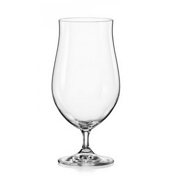 Levně Crystalex Sklenice na pivo Bar 550 ml, 4 ks