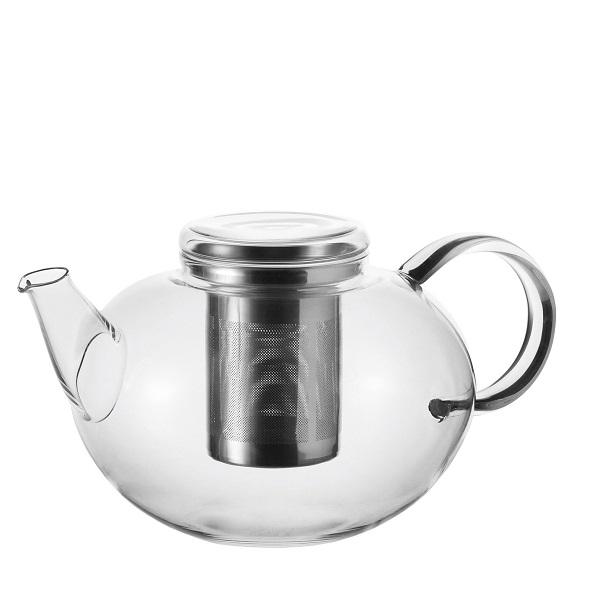 Leonardo Čajová konvice MOON 1,5 l + Zelený čaj Bancha Arashiyama 40 g