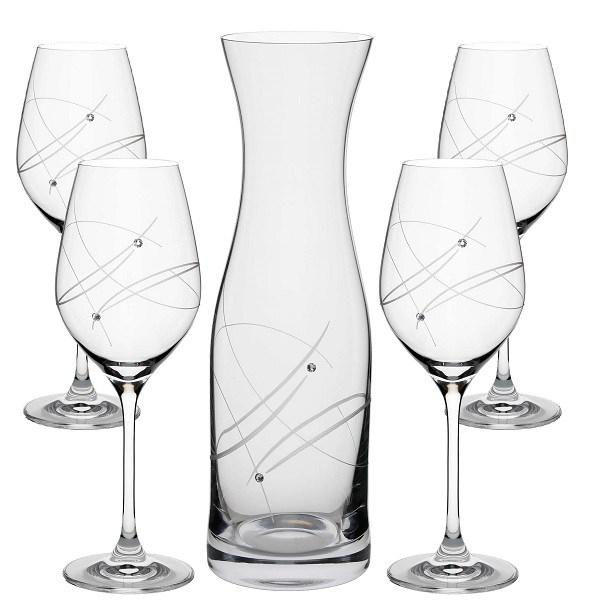 SWAROVSKI MODERN set na víno (1+4)