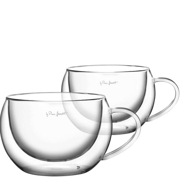 Lamart VASO termo hrnky na cappuccino 270 ml, 2 ks