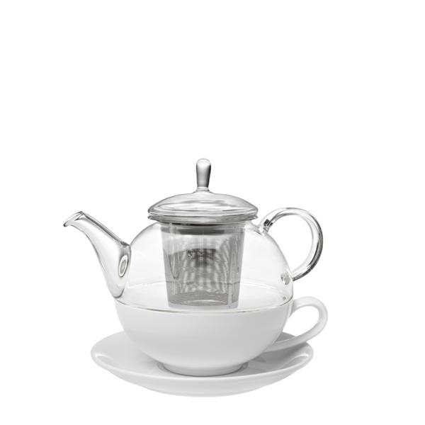 NINA čajová konvice tea for one 0,6 l + Zelený čaj Bancha Arashiyama 40 g