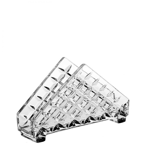 Levně Crystal Bohemia Stojánek na ubrousky DIAMOND 172 mm